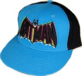 DC Comics - Batman - Black & Indigo Blue - Cap