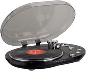 Crosley CR6004A-BK Echo Oval USB Turntable (Black)