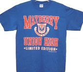 Andy Griffith Show - Mayberry Union High Logo -