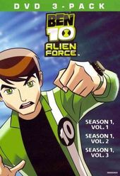 Ben 10: Alien Force,Volumes 1-3 (3-DVD)