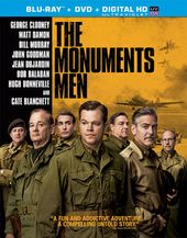 The Monuments Men (Blu-ray + DVD)