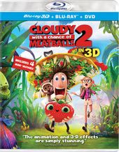 Cloudy with a Chance of Meatballs 2 3D (Blu-ray +