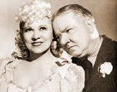 "W.C. Fields And Mae West - 11"" x 14"" Print"