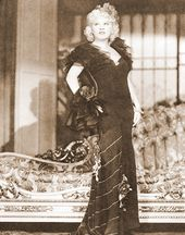 "Mae West - Dress - 11"" x 14"" Print"