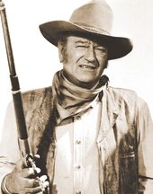 "John Wayne - Shot Gun Point - Print 11"" x 14"""