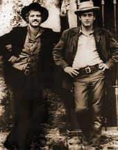 "Robert Redford and Paul Newman - Standing - 11"" x"