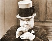 "W.C. Fields - Cards - 11"" x 14"" Print"
