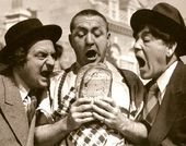"The Three Stooges - Bread - 11"" x 14"" Print"