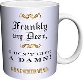 Gone With The Wind - Give A Damn 11 oz. Boxed Mug