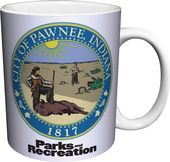 Parks And Recreation - Pawnee Seal 11 oz. Boxed