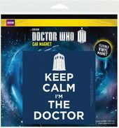 Doctor Who - Keep Calm I'm The Doctor - Car Magnet
