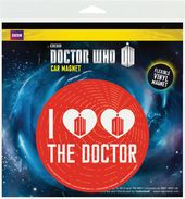 Doctor Who - I Heart The Doctor - Car Magnet