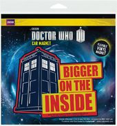 Doctor Who - Bigger On The Inside - Car Magnet