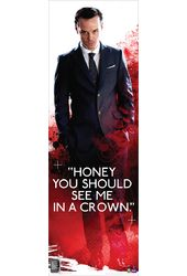 "Sherlock - Moriarty See Me In A Crown - 11.75"" x"