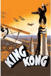 "King Kong - Airplane - 24"" x 36"" Poster"