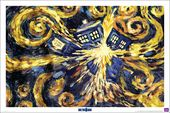 "Doctor Who - Exploding Tardis - 24"" x 36"" Poster"