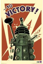 "Doctor Who - Dalek To Victory - 24"" x 36"" Poster"