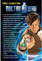 "Doctor Who - Things I Learned - 24"" x 36"" Poster"