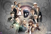 "Doctor Who - Doctors Collage - 24"" x 36"" Poster"