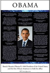 "In Their Words - Obama Quotes - 24"" x 36"" Poster"