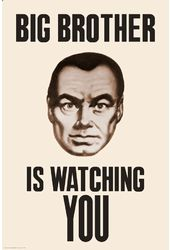 "Big Brother - Watching You - 24"" x 36"" Poster"