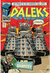 "Doctor Who - Daleks Comic Cover - 24"" x 36"" Poster"