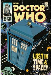 "Doctor Who - TARDIS Comic Cover - 24"" x 36"" Poster"