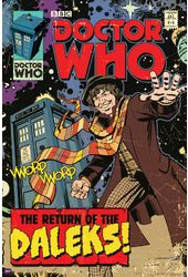 Doctor Who - Return Of The Dalek Comic Cover -