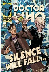 Doctor Who - Silence Will Fall Comic Cover - 24""