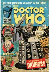 "Doctor Who - Origin Of Davros Comic Cover - 24"" x"