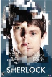 "Sherlock - Faces - 24"" x 36"" Poster"