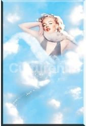 Marilyn Monroe - Clouds - Magnet