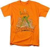 DC Comics - Aquaman - Distressed - T-Shirt