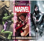 Marvel Comics - Women of Marvel: 2015 Calendar