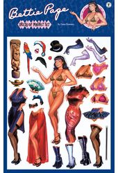 Bettie Page - Dress Up Magnet Set