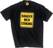 Danger Men Cooking - T-Shirt