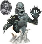 Universal Monsters - B&W Creature Bust Bank