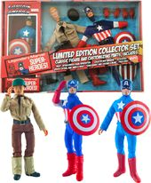 Marvel Comics - Captain America 8In Retro Action