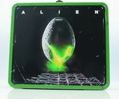 Alien - Egg Distressed Lunch Box With Thermos