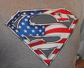 DC Comics - Superman - USA Logo - T-Shirt