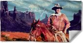 John Wayne - Monument Man - Beach Towel
