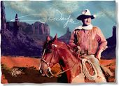 John Wayne - Monument Man - Pillow Case