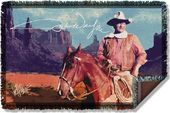 John Wayne - Monument Man - Woven Throw