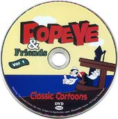 Popeye & Friends - Volume 1 [Paper Sleeve]