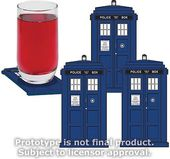 Doctor Who - TARDIS - Coasters Set of 4