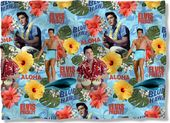 Elvis Presley - Blue Hawaii - Pillow Case
