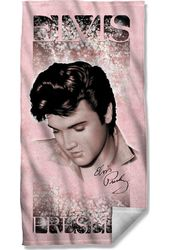 Elvis Presley - Soft Lights - Beach Towel
