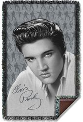 Elvis Presley - Moves - Woven Throw