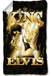 Elvis Presley - The King - Fleece Blanket