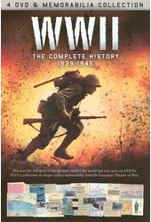 WWII - Complete History, 1939-1945 (4-DVD)